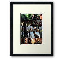 The Last of All. Framed Print