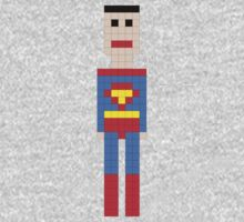 Super Man Squared MKi One Piece - Long Sleeve
