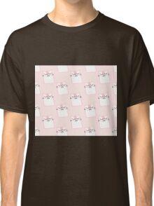 Cute pink kitty print Classic T-Shirt
