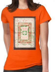 Radio Dial Womens Fitted T-Shirt
