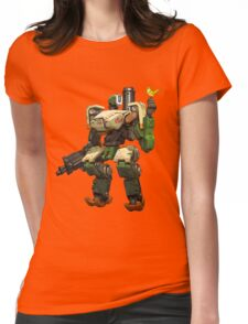 OVERWATCH BASTION Womens Fitted T-Shirt