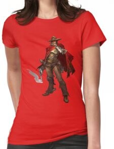 OVERWATCH McCREE Womens Fitted T-Shirt