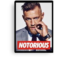 Conor Mcgregor T-shirt Canvas Print