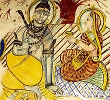 Shiva and Uma by UmaJ
