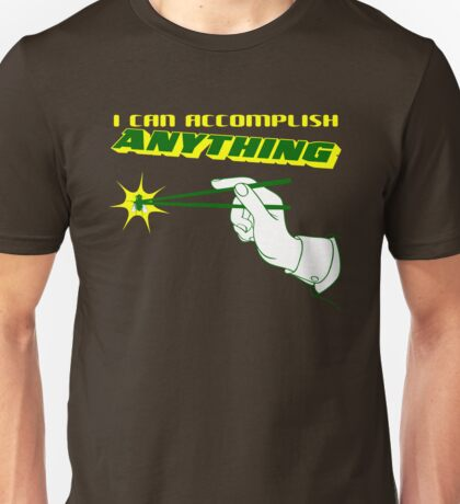 I Can Accomplish Anything - Green and Yellow Unisex T-Shirt