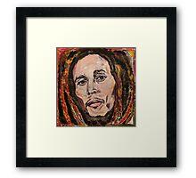 Reggae Legend Framed Print
