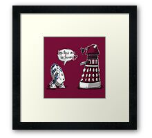 Are you my mummy? - CHOOSE YOUR COLOR Framed Print