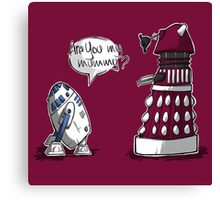 Are you my mummy? - CHOOSE YOUR COLOR Canvas Print