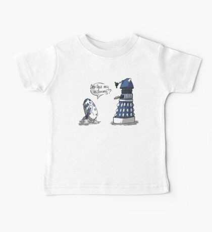 Are you my mummy? - BLUE version Baby Tee