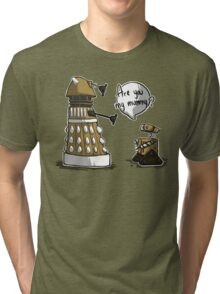 Are you my mummy? - GOLD version Tri-blend T-Shirt