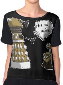 Are you my mummy? - GOLD version Chiffon Top