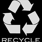 Trash - Recycle, in black by corpsrpeople