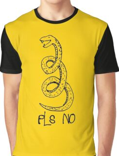 Don't Tread On Me (Funny Parody Gadsden Snake) Graphic T-Shirt