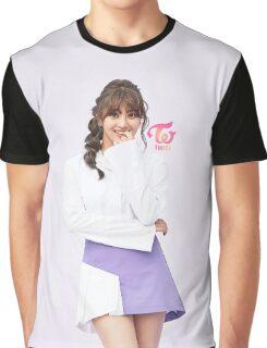 TWICE 'TT' Jihyo Typography Graphic T-Shirt