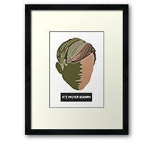 It's Mister Osborn Framed Print