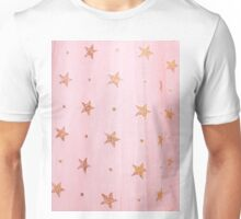 Pink tulle and stars Unisex T-Shirt