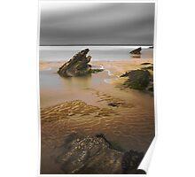Fistral Rocks, Newquay, Cornwall, UK ~ Atlantic Coast Poster