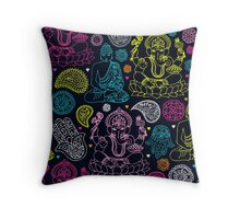 Yoga Love Throw Pillow