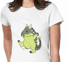 Ankylosaurus Womens Fitted T-Shirt