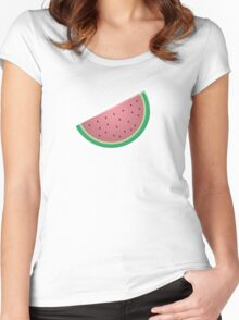 Cute Fruit: Melon Crazy! Women's Fitted Scoop T-Shirt