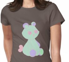 Sweet Teddy Womens Fitted T-Shirt