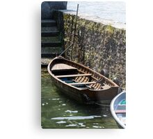 boat on lake Metal Print