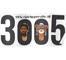 Childish Gambino - 3005 Poster