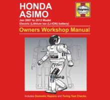 Asimo Owner/Operator Instruction Manual by Winxamitosis
