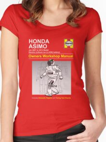 Asimo Owner/Operator Instruction Manual Women's Fitted Scoop T-Shirt