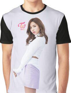 TWICE 'TT' Mina Typography Graphic T-Shirt