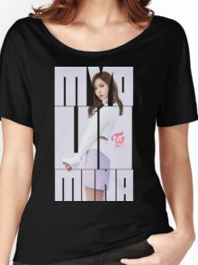TWICE 'TT' Mina Typography Women's Relaxed Fit T-Shirt