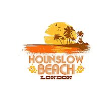 Hounslow Beach Photographic Print