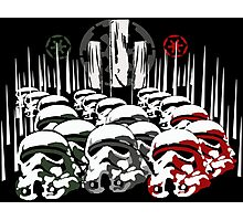 Army of stormtroopers Photographic Print