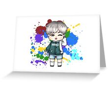 BTS Color Your Day: Yoongi Greeting Card