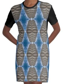 Towering Convergence Graphic T-Shirt Dress