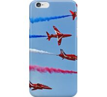 The Red Arrows - Rollbacks - Farnborough 2014 iPhone Case/Skin