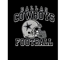 Cowboys Football Team Fans (All sex) Photographic Print