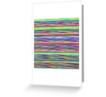 Sequencer Greeting Card