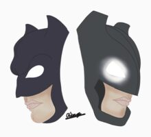 The New Batsuits by CarinaDrawings