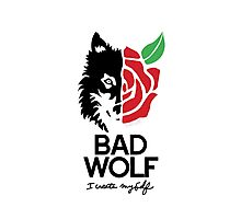 BAD WOLF Photographic Print
