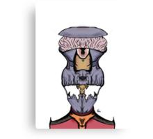 Alien Skeleton Commander Canvas Print