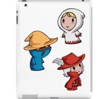 Final Fantasy Chibis - Mage Trio! iPad Case/Skin