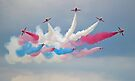 The Red Arrows - Detanator - Dunsfold 2014 by Colin  Williams Photography