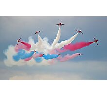 The Red Arrows - Detanator - Dunsfold 2014 Photographic Print