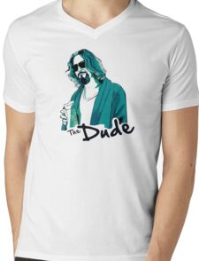 The Dude, The big Lebowski Mens V-Neck T-Shirt