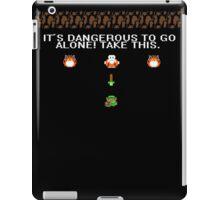 It's dangerous to go alone iPad Case/Skin
