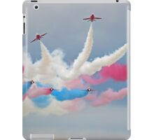 The Red Arrows - Break - Dunsfold 2014 iPad Case/Skin