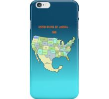 Welcome to the USA of tomorrow! iPhone Case/Skin
