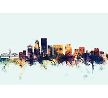 Portland Oregon Skyline Photographic Print