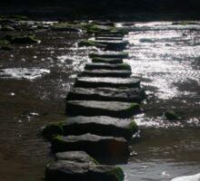 Perranporth, Cornwall, UK, The Stepping Stones ~ Atlantic Coast Sticker